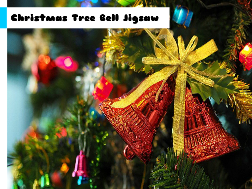 Christmas Tree Bell Jigsaw