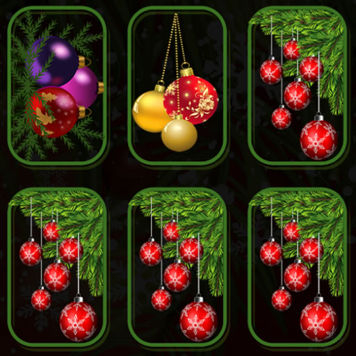 Christmas Ornaments Memory